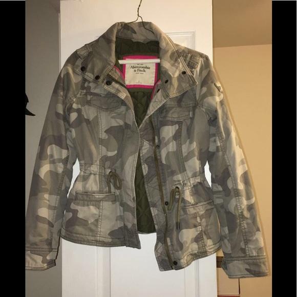a84bcee9bf0f3 Abercrombie & Fitch Jackets & Coats | Camouflage Jacket | Poshmark